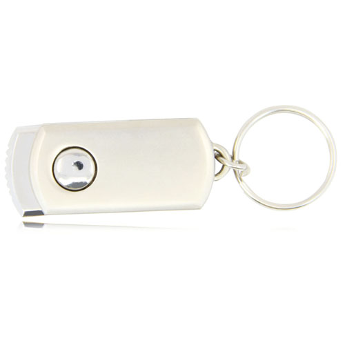 1GB Swivel Metal Flash Drive