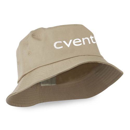 Cotton Polyester Blend Twill Bucket Hat