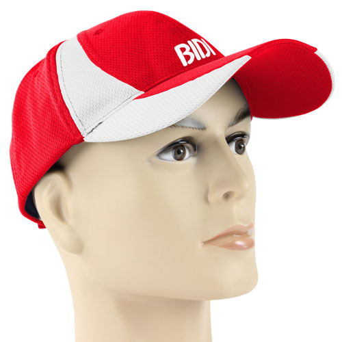 Two Color Mesh Cloth Baseball Cap